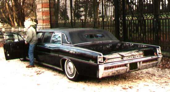 1969 lincoln continental limousine by petterson